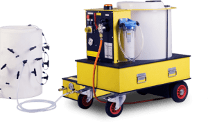 Wet Injection System for Asbestos Removal